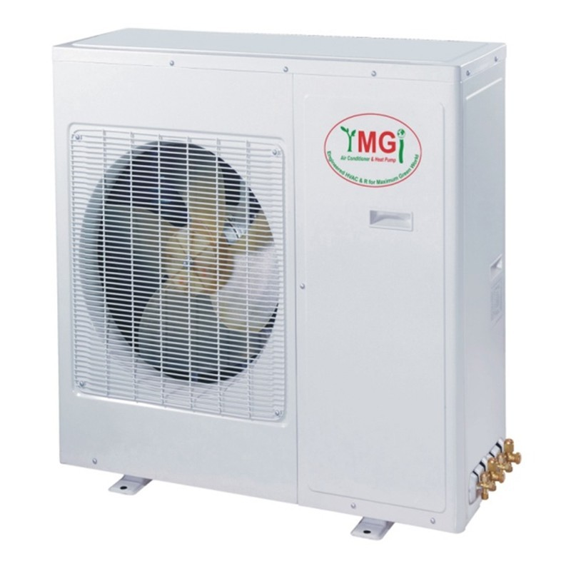 12+12K YMGI Dual Zone Ductless Mini Split Air Conditioner Heat Pump 208-230V 16 SEER DC Inverter